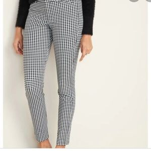 Old Navy gingham ankle pant